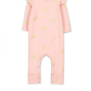 Milky Romper Feather