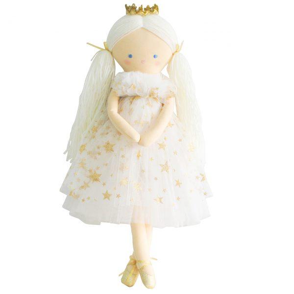Alimrose Penelope Princess Gold Star Tulle