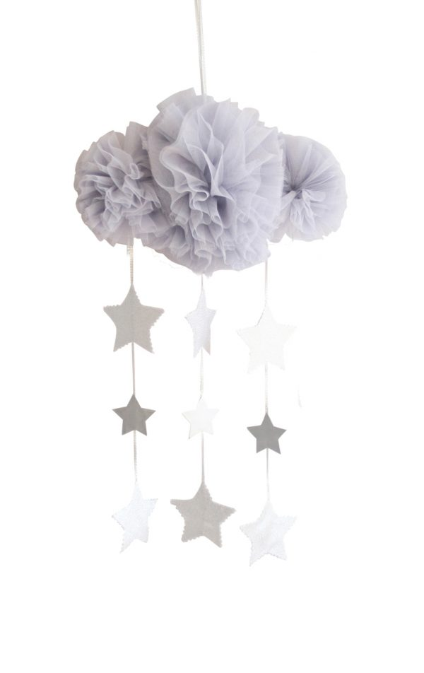 Alimrose Tulle Cloud Mobile Mist
