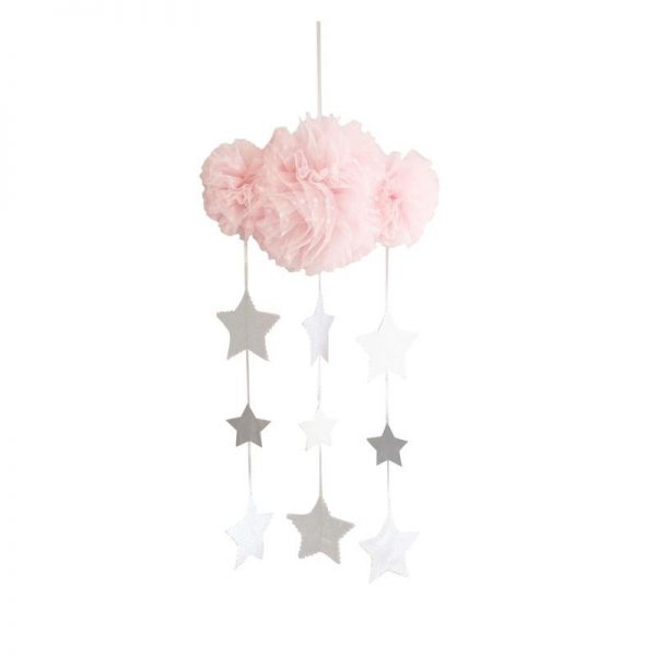 Alimrose Tulle Cloud Mobile Pink