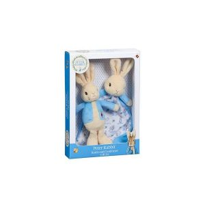 Beatrix Potter Peter Rabbit Rattle & Comforter Set