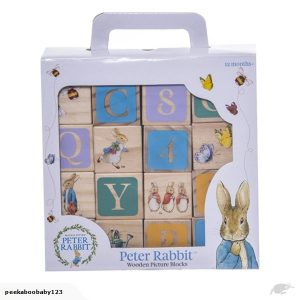 Beatrix Potter Peter Rabbit Wooden Learning Blocks