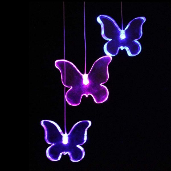 LED Butterfly Mobile with Timer