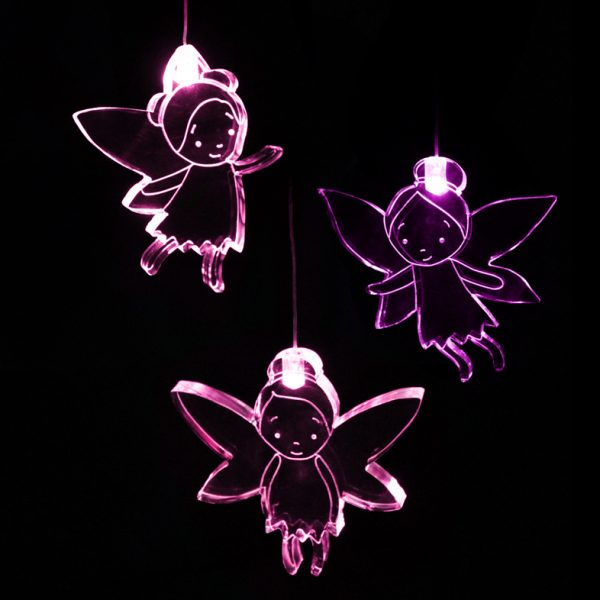 LED Fairy Mobile with Timer