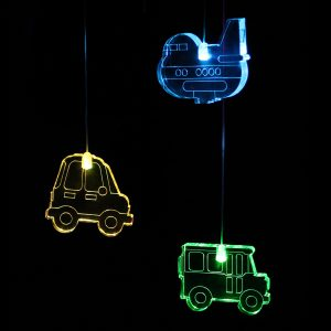 LED Transport Mobile with Timer