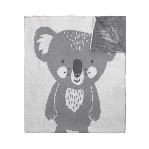 Mister Fly Koala Knitted Blanket
