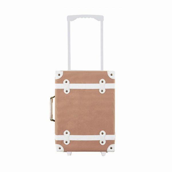 Olli Ella See-Ya Suitcase Rust