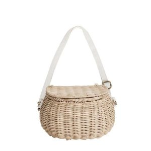 Olli Ella Straw Minichari Bag