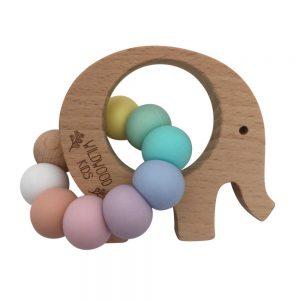 Wildwood Kids Elephant Teething Ring