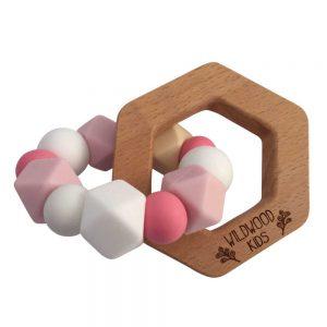Wildwood Kids Hexagon Teething Ring