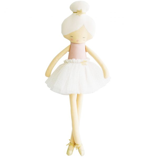 Alimrose Arabella Ballerina Doll Pale Pink