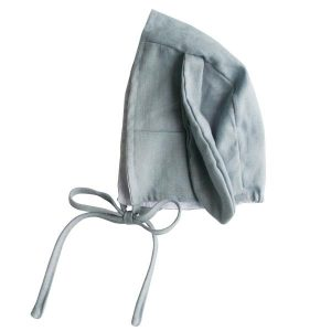 Alimrose Bobby Bunny Bonnet Grey Linen