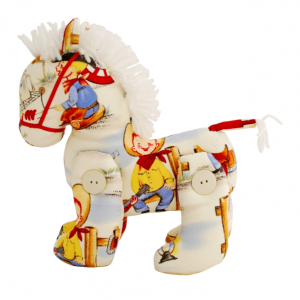 Alimrose Cowboy Jointed Pony