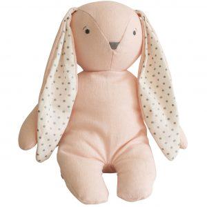 Alimrose Floppy Bobby Bunny Pink
