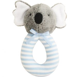 Alimrose Grab Rattle Koala Blue Stripe