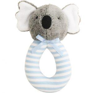 Alimrose Grab Rattle Koala Blue Stripe