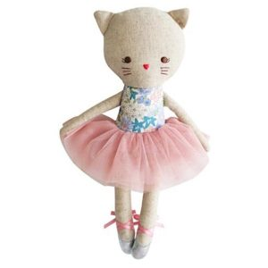 Alimrose Kitty Ballerina Odette Liberty Blue