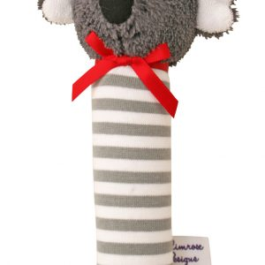 Alimrose Squeaker Koala Grey Stripe