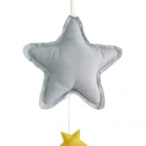 Alimrose Star Musical Grey Linen