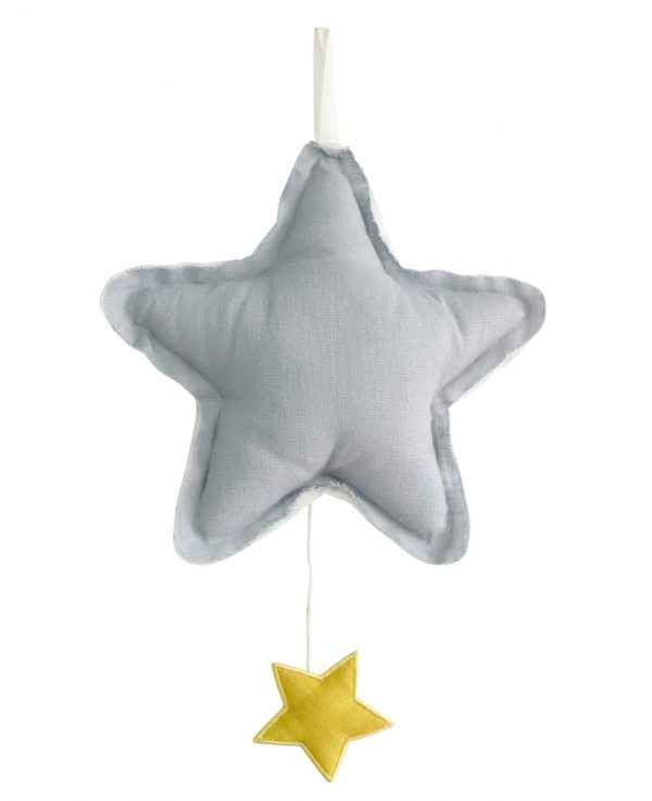 Alimrose Star Musical Grey Linen