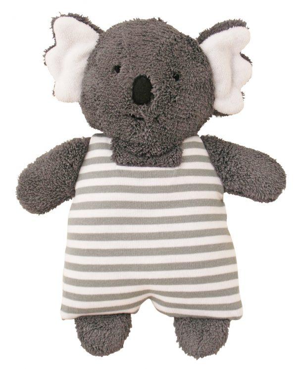 Alimrose Toy Rattle Koala Grey Stripe