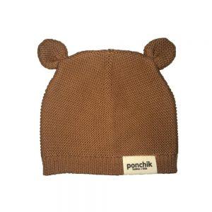 Ponchik Bear Beanie Birch