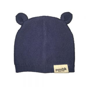 Ponchik Bear Beanie Dusk