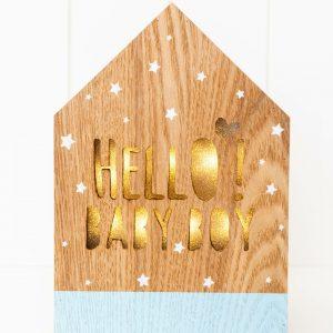 Rayell LED Light Box Hello Baby Boy