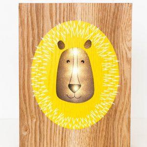 Rayell LED Light Box Lazy Lion
