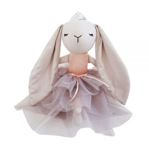 Spinkie Baby Lashful Bunny Princess in Oyster