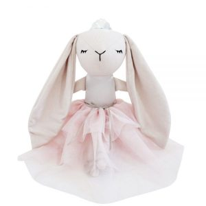 Spinkie Baby Lashful Bunny Princess in Pale Rose