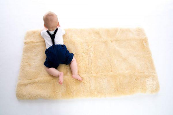 Auskin Wool Cot Underlay