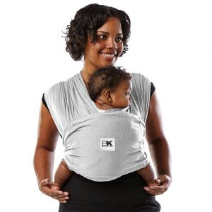 Baby K'tan Original Baby Carrier Heather Grey