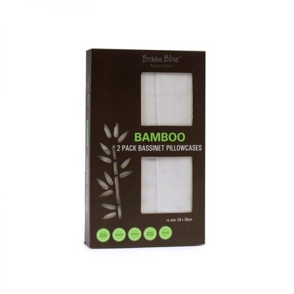 Bubba Blue Bamboo Bassinet Pillow Case Set
