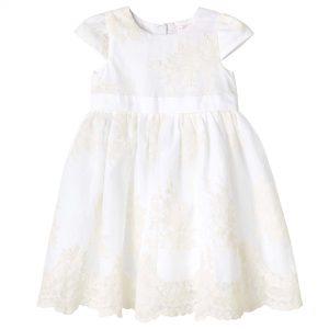 Designer Kids Madison Christening Gown Beige