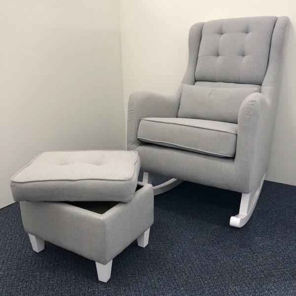 Il Tutto Billie Rocking Chair White Legs
