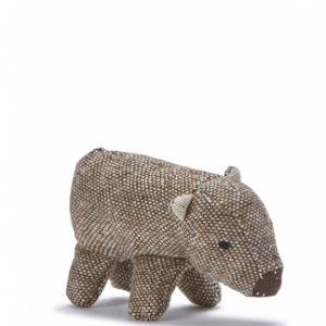 Nana Huchy Mini Wally the Wombat Baby Rattle
