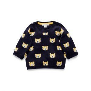 Purebaby Little Tiger Knit Jumper