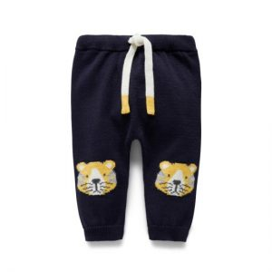 Purebaby Tiger Patch Knit Pant