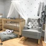 gender neutral nursery - grey and beige
