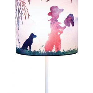 Cowboy Print Lamp