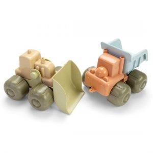Dantoy Bio Bulldozer & Truck Set