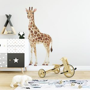 Ginger Monkey Watercolour Giraffe Wall Decal