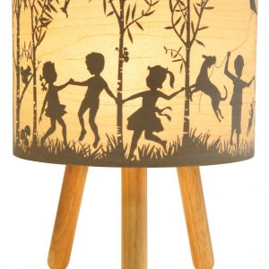 In The Woods Timber Table Lamp