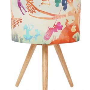 Treehouse Colour Fabric Lamp