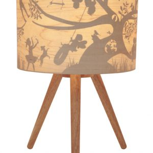 Treehouse Timber Fabric Lamp