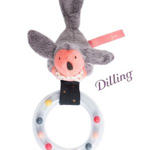 Moulin Roty II Etait Une Fois Bird With Ring Rattle