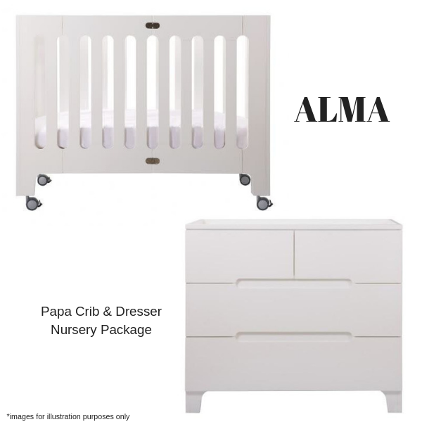 Bloom Alma Nursery Package