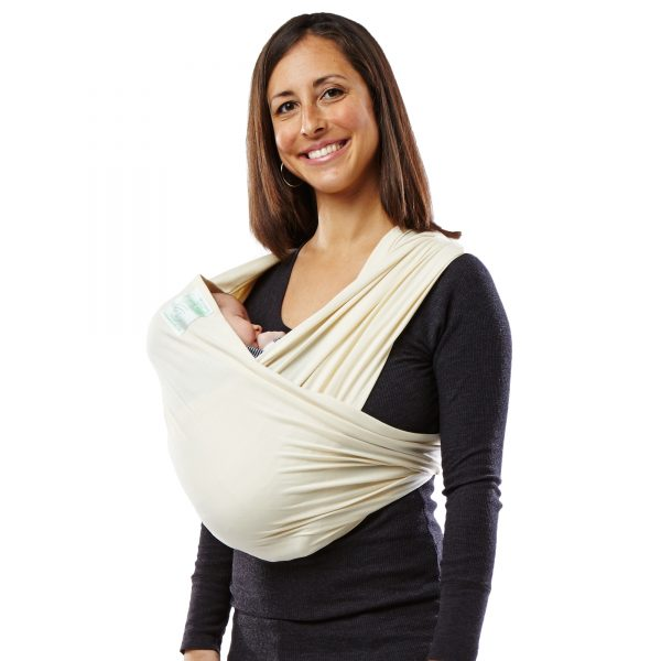Baby K'tan Organic Cotton Baby Carrier Natural