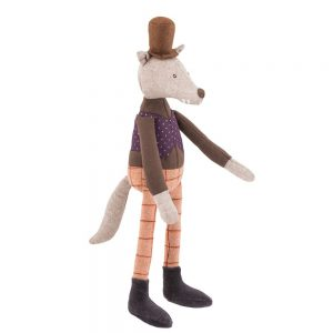 Moulin Roty II Etait Une Fois Mini Gentleman Wolf